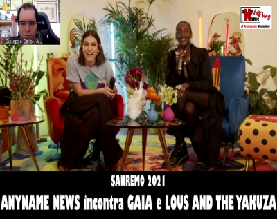 SANREMO 2021: Intervista a GAIA e LOUS AND THE YAKUZA